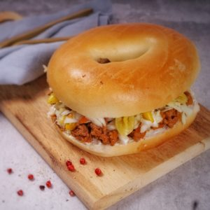 Bagel Sloppy Saturn by Moon Deli - Foto: Jair Ritter