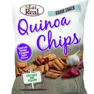 Quinoa Chips Sundried Tomato Roasted Garlic von Eat Real